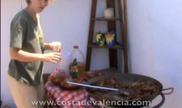 Costa de Valencia, Spanish language school and a course of making paella