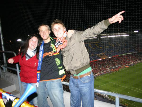 Trip to Barcelona with the opportunity to see the soccer game FC Barcelona – Valencia CF