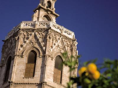 Miguelete - bell tower of the Cathedral of Valencia