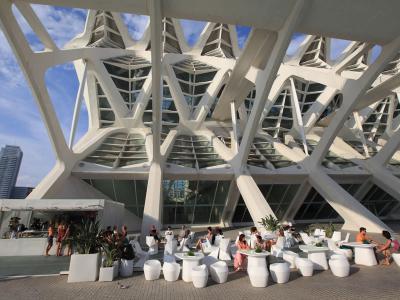 Terraza museo de las ciencias